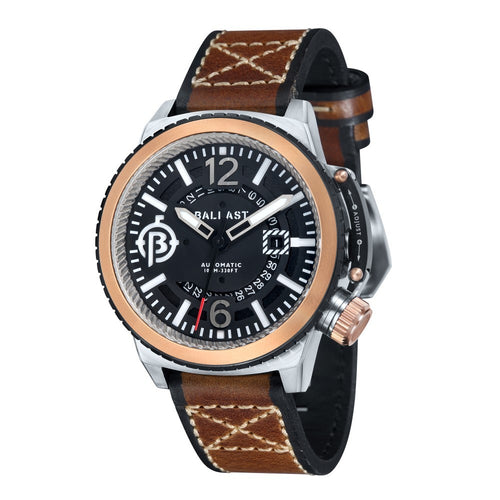 Ballast Trafalgar Automatic Stainless Steel Case Black Dial Men's Watch