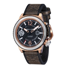 Load image into Gallery viewer, Ballast Trafalgar Automatic Rose Case Black Dial Men's Watch