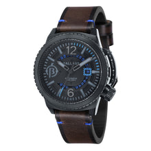 Load image into Gallery viewer, Ballast Trafalgar Automatic Black Dial Blue Stitching Men's Watch