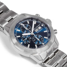 Load image into Gallery viewer, MGJVB Men's Sport II SSB Automatic Chronograph Watch