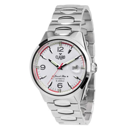 Claro Beach Star Automatic White Men's Watch