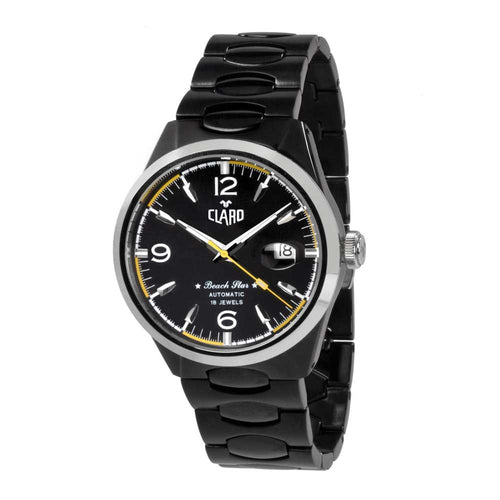 Claro Beach Star Automatic Black Men's Watch