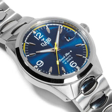 Load image into Gallery viewer, Claro Beach Star Automatic Blue Men's Watch