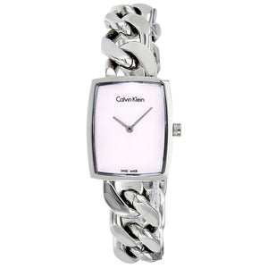 Calvin-Klein Amaze Pink Mother of Pearl Dial Ladies Watch