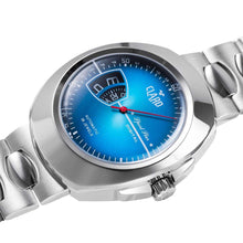 Load image into Gallery viewer, Claro Men's Sports Star Blue Dial Automatic Watch
