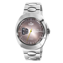 Load image into Gallery viewer, Claro Men's Sports Star Grey Dial Automatic Watch