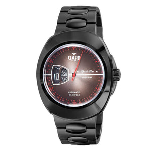 Claro Men's Sports Star Black Automatic Watch