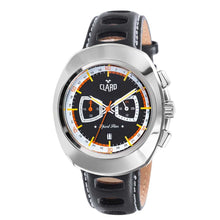 Load image into Gallery viewer, Claro Men's Sports Star Black Dial Quartz Chronograph Watch