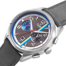 Load image into Gallery viewer, Claro Men's Speed Star Grey Quartz Chronograph