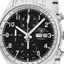 Load image into Gallery viewer, Ball Men's Trainmaster Pulsemeter II Black Dial Chronograph Swiss Automatic Watch