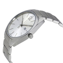 Load image into Gallery viewer, Calvin-Klein Men's Exchange Silver Dial Stainless Steel Watch