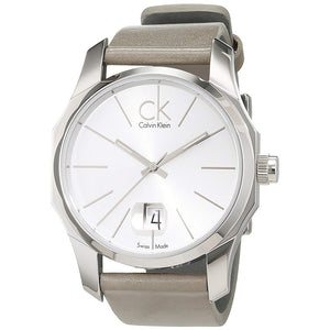 Calvin-Klein Men's Grey Dial Quartz Watch