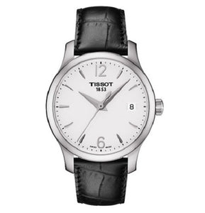 Tissot T-Classic Tradition Silver Dial Ladies Watch
