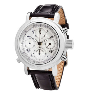 MGJVB Men's Roman Rattrapante Automatic Chronograph Watch
