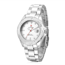 Load image into Gallery viewer, Swiss-Mountaineer Men's Abeni Flue White Dial Quartz Watch