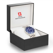 Load image into Gallery viewer, Swiss-Mountaineer Men's Pointe Sud de Moming Watch