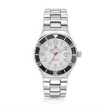 Load image into Gallery viewer, Swiss-Mountaineer Men's Pointe Sud de Moming White Dial Watch