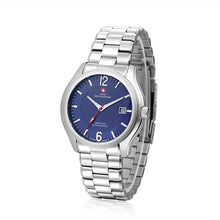 Load image into Gallery viewer, Swiss-Mountaineer Men's Gletscherhorn Blue Dial Quartz Watch