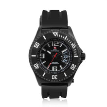 Load image into Gallery viewer, Swiss-Mountaineer Men's Jakobshorn Black Dial Quartz Watch
