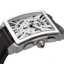 Load image into Gallery viewer, Claro Men's Ascender Silver Quartz Chronograph Watch
