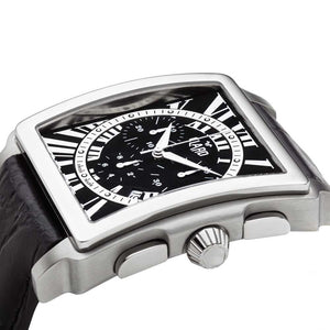 Claro Men's Ascender Black Quartz Chronograph Watch