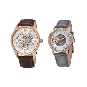 Stuhrling Skeleton Pair Set