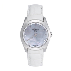 Tissot Women's Couturier Grande Mother of Pearl Dial Watch