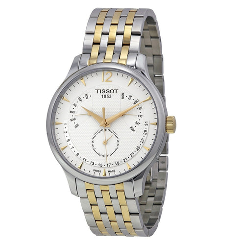 Tissot Men's Tradition Perpetual Calendar White Dial Watch
