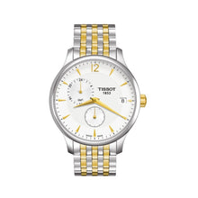 Load image into Gallery viewer, Tissot Men's Tradition Silver Dial Two-tone Watch