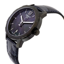 Load image into Gallery viewer, Tissot Unisex Quickster Black Mother of Pearl Dial Watch