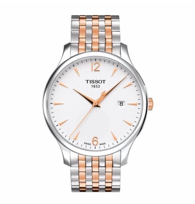 Tissot T-Classic Tradition Silver Dial Men's Watch