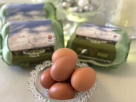 Local Free Range Eggs (6)