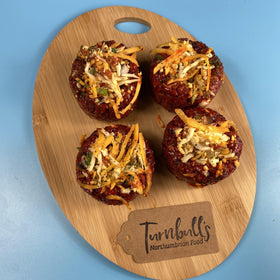 Four Spicy Beef Truffles