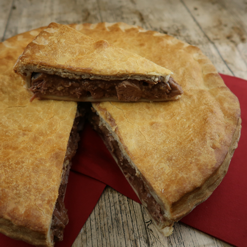 Large 8 Inch Beef Steak Pie