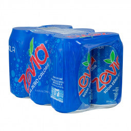 Zevia Cola 6-Pack (Tx) 6 X 355ml