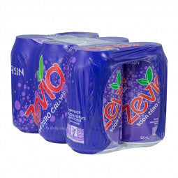 Zevia Raisin 6-Pack (Tx) 6 X 355ml