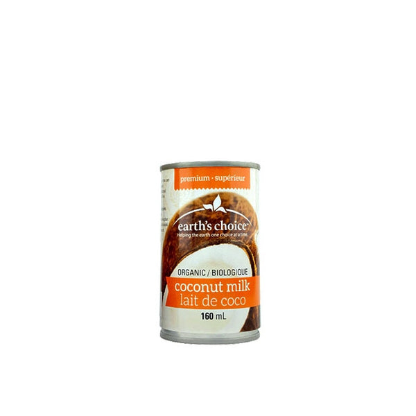 Earth's Choice Cuisson Lait de coco bio 160ml