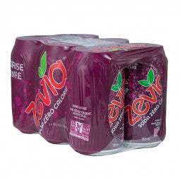 Zevia Soda 6-Pack Cerise Noir 6 x 355ml