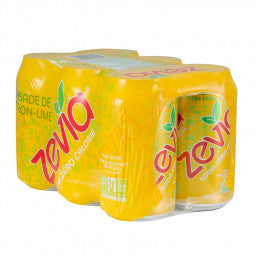 Zevia Soda 6-Pack Citron-Lime 6 x 355ml