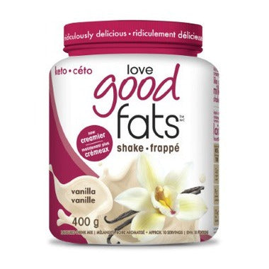 Love Good Fats Shake Vanille (Tx) 400g