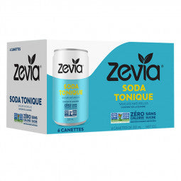 Zevia Allongeur 6-Pack Soda Tonique 6 x 222ml TX