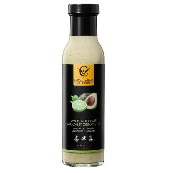 Cedar Valley Vinaigrette Avocat Lime 275ml