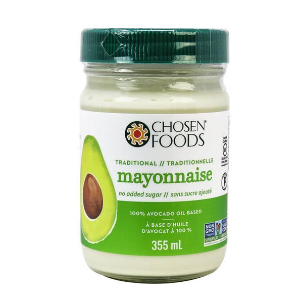 Chosen Food Mayo a l'huile d'avocat 355ml