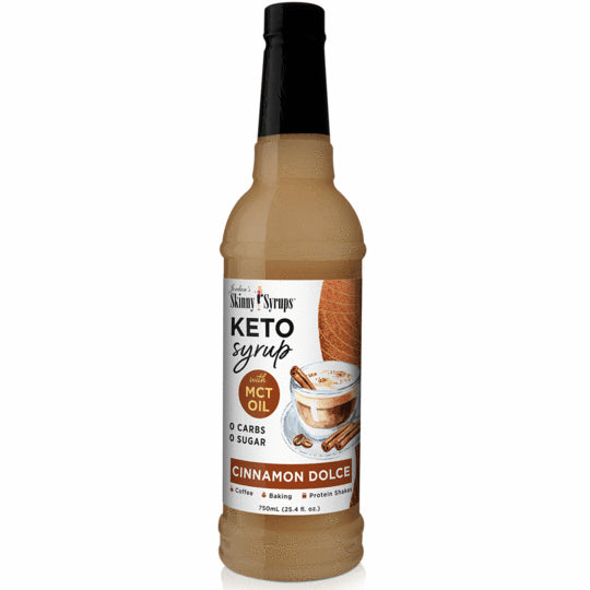 Skinny Mixes Sirop KETO Douce Cannelle avec MCT 750ml
