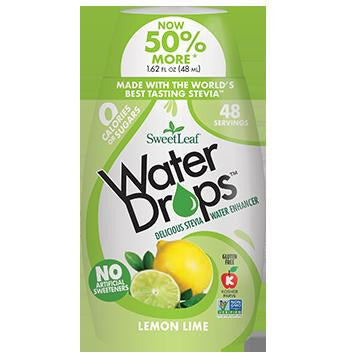 SweetLeaf Water Drop Aromatisant pour eau Lime Citron 48ml