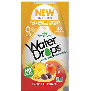 SweetLeaf Water Drop Aromatisant pour eau Punch Tropical 48ml