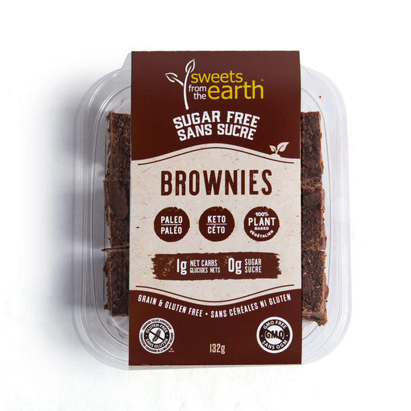 Sweet From The Earth Brownies 132g
