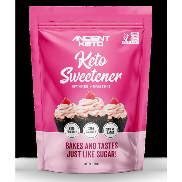 Ancient Keto Keto Sweetener Fruits du moine et Erythritol 500g