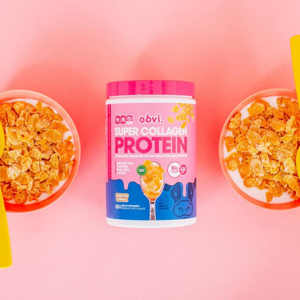 Obvi Super Collagene Proteine Cereale Frosted 351g TX