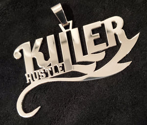 Killer Hustle Pendant Charm